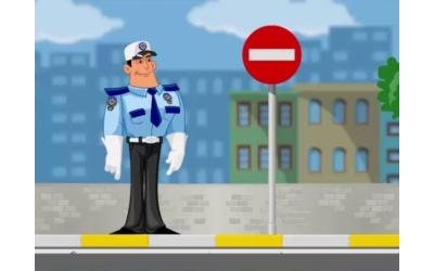 Trafik İşaretleri - Animasyon