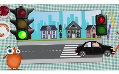 Trafik İle İlgili Bir Çizgi Dizi - Animasyon