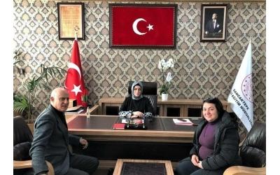 Sancaktepe İlçe Milli Eğitim Müdürü Sayın Hale BAĞCI ÖZBAŞ' ıMakamında Ziyaret Ettik