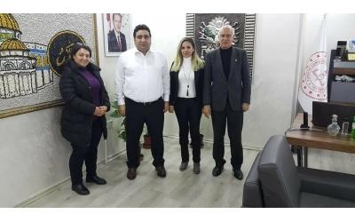 Sultangazi İlçe Milli Eğitim Müdürü Sayın İbrahim DEMİR' i Makamında Ziyaret Ettik