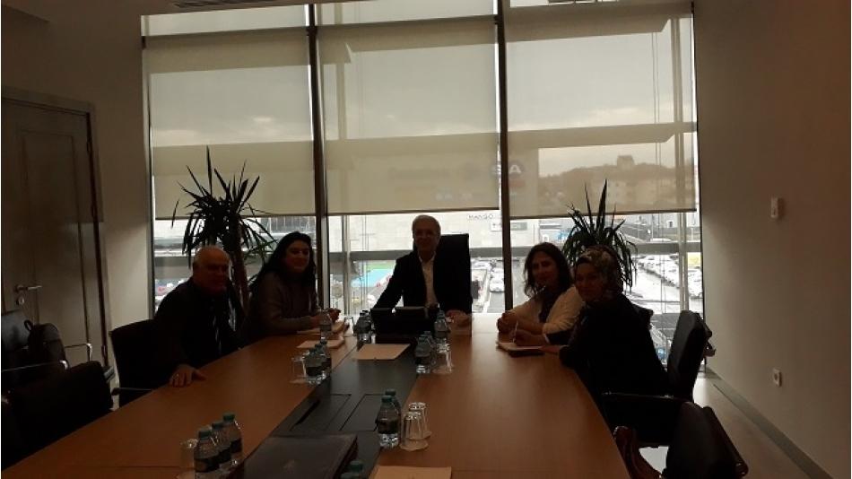 İBB Genel Sekreter Yardımcısı Sayın Orhan DEMİR'i Makamında Ziyaret Ettik