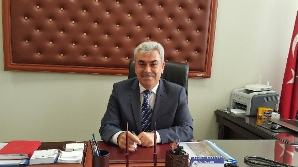 Zeytinburnu İlçe Milli Eğitim Müdürü Sayın ,Ali YEŞİLYURT' u Makamında Ziyaret Ettik