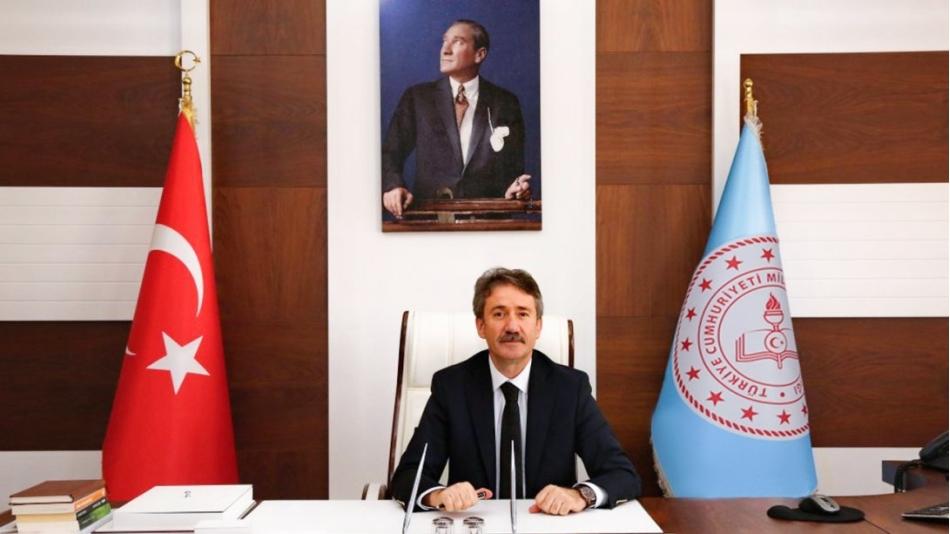 İstanbul İl Milli Eğitim Müdürümüz Sayın Levent Yazıcı' yı Makamında Ziyaret Ettik