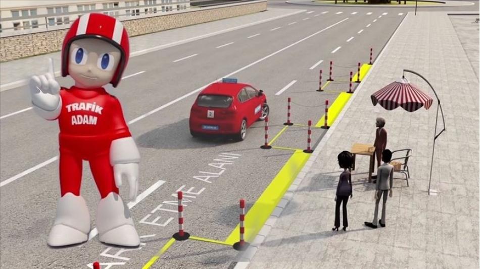 Trafik Adam Animasyonu Büyük İlgi Görüyor...
